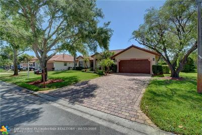 Coral Springs Single Family Home For Sale: 11860 NW 2nd Ct