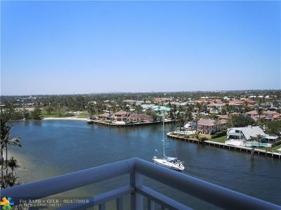 Pompano Beach Condo/Townhouse For Sale: 2611 N Riverside Dr #1004