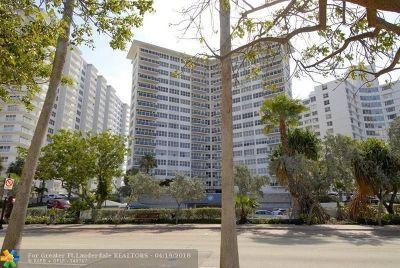 Fort Lauderdale Condo/Townhouse For Sale: 3700 Galt Ocean Dr #910