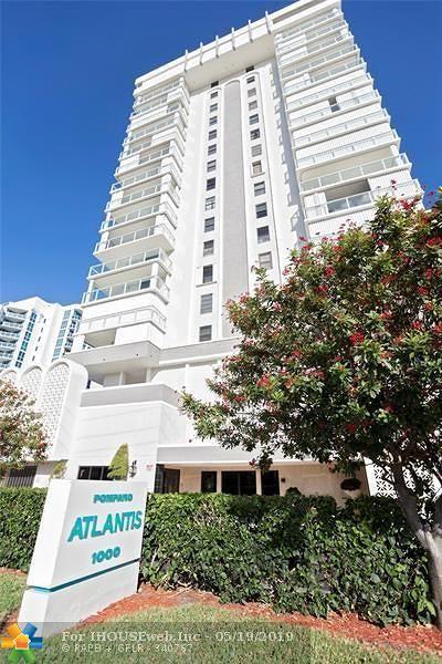 Pompano Beach Condo/Townhouse For Sale: 1000 S Ocean Blvd #12J