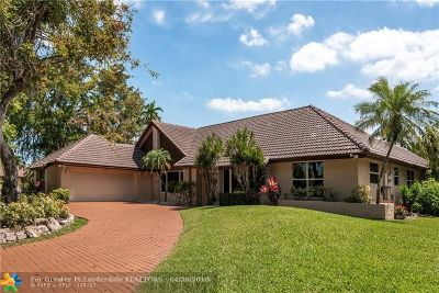 Coral Springs Single Family Home For Sale: 297 NW 104th Ave