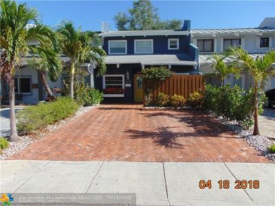 Fort Lauderdale Single Family Home For Sale: 1255 SE 2nd Ct