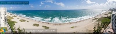 Pompano Beach Condo/Townhouse For Sale: 730 N Ocean Blvd #1002