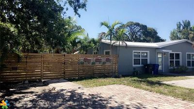 Fort Lauderdale Multi Family Home For Sale: 1425 NW 4th Ave