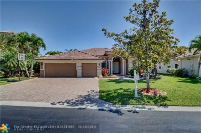Coral Springs Single Family Home For Sale: 12212 NW 48th Dr
