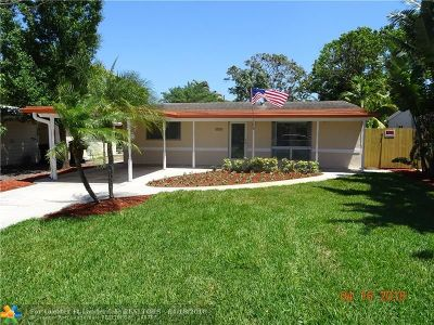 Fort Lauderdale Single Family Home For Sale: 1526 SW 10th Ave