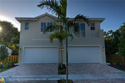 Fort Lauderdale Single Family Home For Sale: 1031 NE 13th Ave
