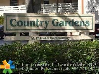 Coral Springs Condo/Townhouse For Sale