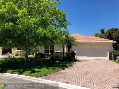 Coral Springs Single Family Home For Sale: 5757 NW 47th Ct