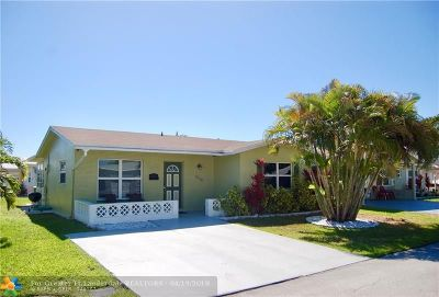 Tamarac Single Family Home For Sale: 6008 NW 67th Way