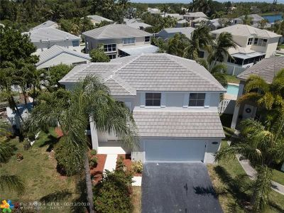 Coconut Creek Single Family Home For Sale: 5232 NW 53rd Cir