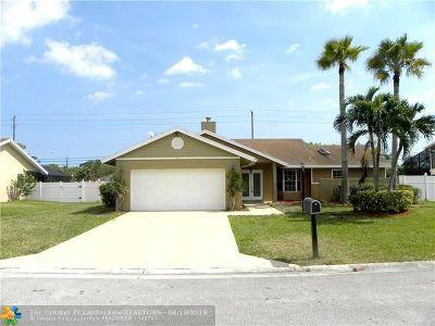Boynton Beach Single Family Home For Sale: 4101 Alpinia Ct