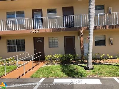 Margate Condo/Townhouse For Sale: 7400 NW 5th Pl #208