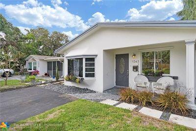 Oakland Park Single Family Home Backup Contract-Call LA: 1547 NE 36th St