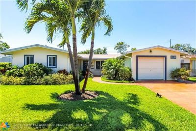 Lauderhill Single Family Home For Sale: 1461 NW 54th Ave