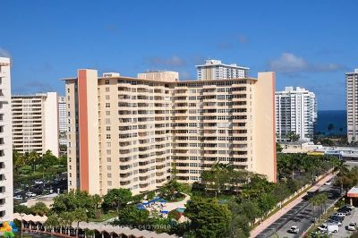 Fort Lauderdale Condo/Townhouse For Sale: 3333 NE 34th St #911