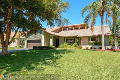 Coral Springs Single Family Home For Sale: 5055 NW 84th Rd