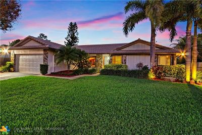 Coral Springs Single Family Home For Sale: 131 NW 88th Way