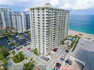Fort Lauderdale Condo/Townhouse For Sale: 3550 Galt Ocean Dr #309