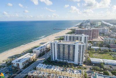 Pompano Beach Condo/Townhouse For Sale: 531 N Ocean Blvd #601