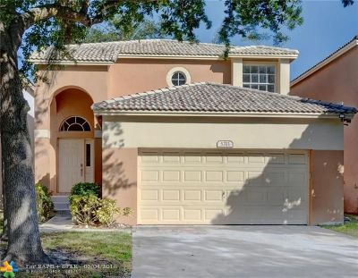 Coconut Creek Single Family Home For Sale: 5311 Eagle Cay Way