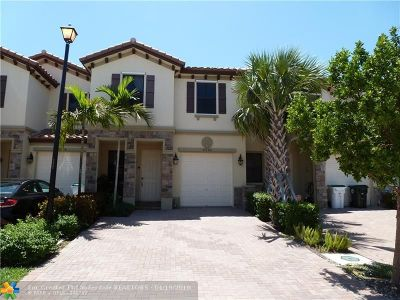 Coconut Creek Condo/Townhouse For Sale: 4000 Allerdale Pl #4000