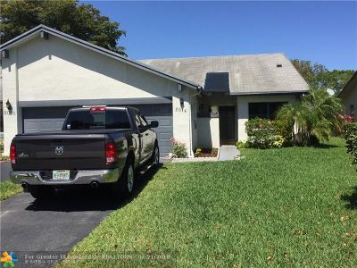 Tamarac Condo/Townhouse For Sale: 8014 NW 100th Dr #8014