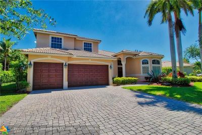 Parkland Single Family Home For Sale: 6460 NW 105th Ter