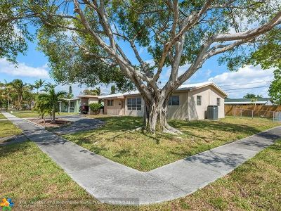 Pompano Beach FL Single Family Home Backup Contract-Call LA: $265,000