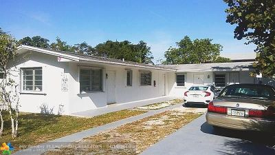 Oakland Park Multi Family Home For Sale: 281 NW 41st St