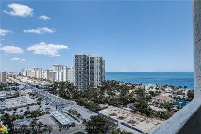 Fort Lauderdale Condo/Townhouse For Sale: 3015 N Ocean #18E