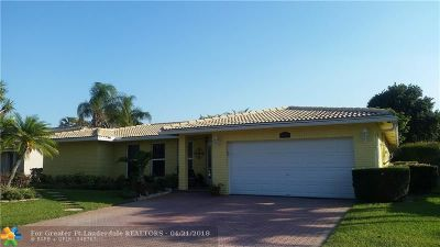 Coral Springs Single Family Home For Sale: 8276 NW 11th St