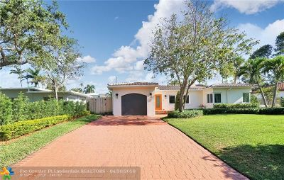 Fort Lauderdale FL Single Family Home For Sale: $995,000