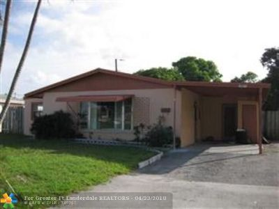 Pompano Beach Single Family Home For Sale: 1851 NW 5th Ter