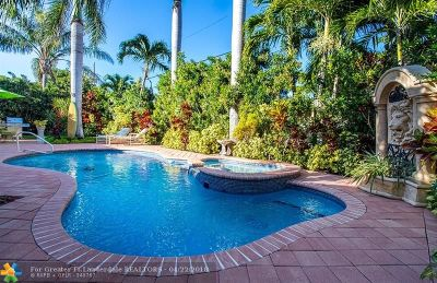 Lighthouse Point Single Family Home Backup Contract-Call LA: 2211 NE 41st St