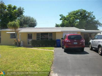 Pompano Beach Single Family Home For Sale: 3331 NE 14th Ter