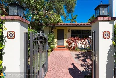 Fort Lauderdale Single Family Home For Sale: 16 SE 9th Ave