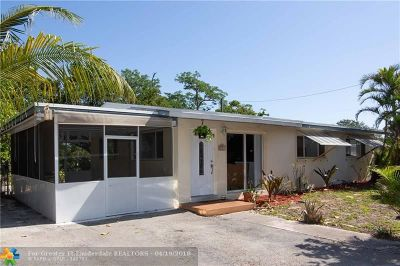 Fort Lauderdale Single Family Home For Sale: 2911 SW 14th St
