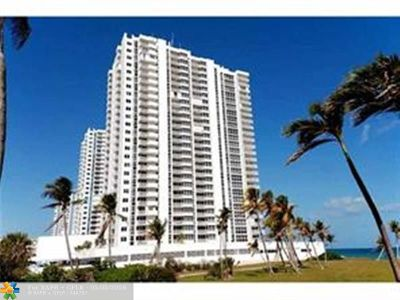 Pompano Beach Rental For Rent: 1370 S Ocean Blvd #1406