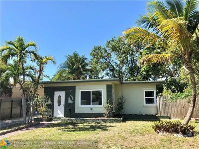 Fort Lauderdale Single Family Home For Sale: 709 NE 15th St