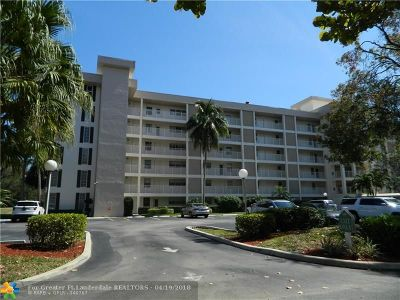 Pompano Beach Condo/Townhouse For Sale: 2600 S Course Dr #509
