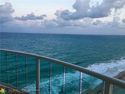 Rental For Rent: 3410 Galt Ocean #1802 N