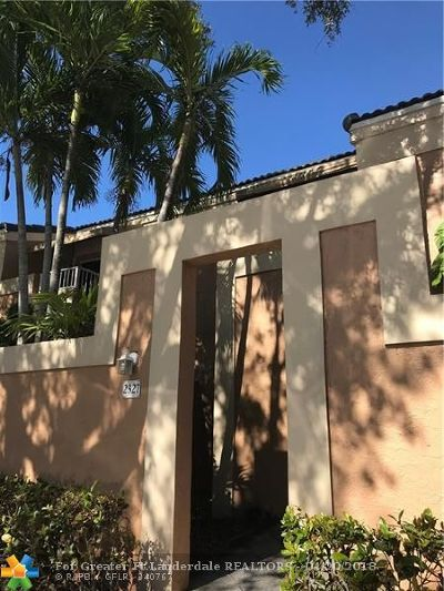 North Lauderdale Condo/Townhouse For Sale: 2327 SW 82nd Ter #2327