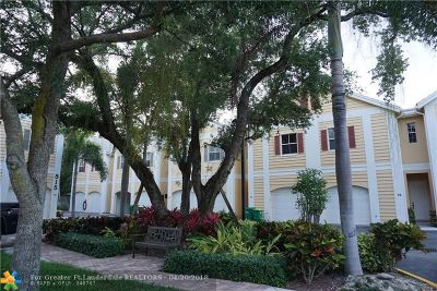 Fort Lauderdale Condo/Townhouse For Sale: 505 SW 18th Ave #10
