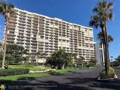 Boca Raton Condo/Townhouse For Sale: 4301 N Ocean Blvd #502