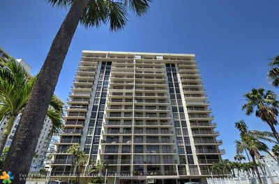 Fort Lauderdale Condo/Townhouse For Sale: 3031 N Ocean Blvd #1603