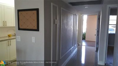 Pembroke Pines Condo/Townhouse For Sale: 13001 SW 11th Ct #109A