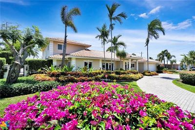 Fort Lauderdale FL Single Family Home For Sale: $1,295,000