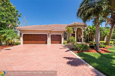 Coral Springs Single Family Home For Sale: 12749 NW 13th Mnr