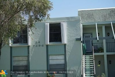 Margate Condo/Townhouse For Sale: 7396 NW 18th St #205